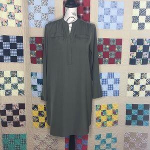 LOFT Shirt Dress Size Petite Medium